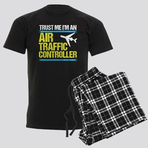 Air Traffic Controller Men's Dark Pajamas