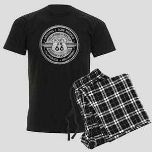 Route 66 states Men's Dark Pajamas