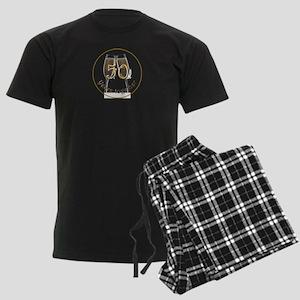 50 Years Together Men's Dark Pajamas