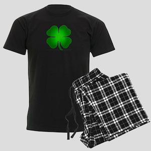 Four Leaf Clover Men's Dark Pajamas