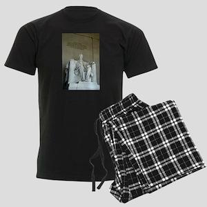 Lincoln Memorial Men's Dark Pajamas