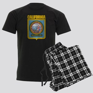"""California Gold"" Men's Dark Pajamas"