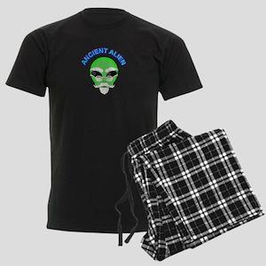 An Ancient Alien Men's Dark Pajamas