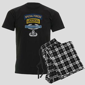 SF Ranger CIB Airborne Master Men's Dark Pajamas