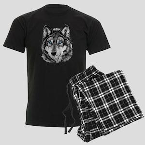 Wolfingrayscale3 Pajamas