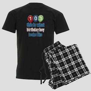 This is what 103 looks like Men's Dark Pajamas