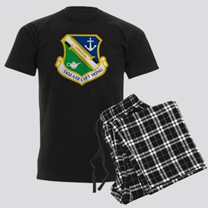 143rd Airlift Wing Men's Dark Pajamas