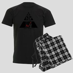 Forex-Stock-Trader-11-A Men's Dark Pajamas