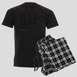 REST IN PEACE R.I.P. T-SHIRTS  Men's Dark Pajamas