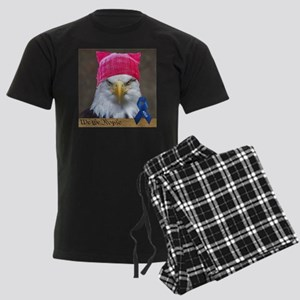 Eagle in Pussyhat ACLU Pajamas