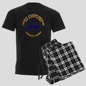 Combat Aviation Bde - 82nd AD Men's Dark Pajamas