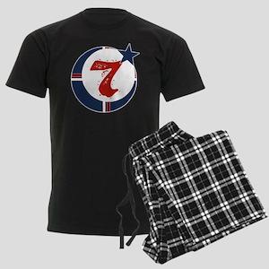 moorscience_nobg Men's Dark Pajamas