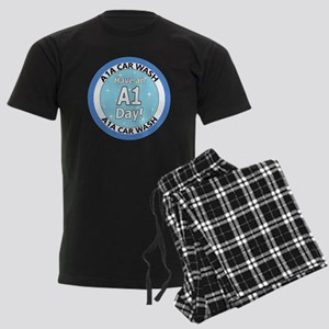 'Have an A1 Day!' Men's Dark Pajamas