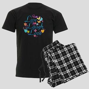 7-livelaugh Men's Dark Pajamas