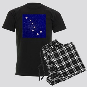 The Big Dipper Constellation Men's Dark Pajamas