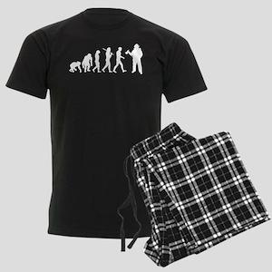 Fireman Evolution Men's Dark Pajamas