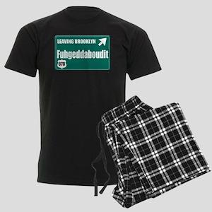 Brooklyn Men's Dark Pajamas