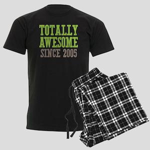 Totally Awesome Since 2005 Men's Dark Pajamas