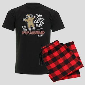 Ninjabread Man Men's Dark Pajamas