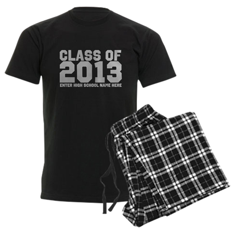 2013 Graduation Men's Dark Pajamas