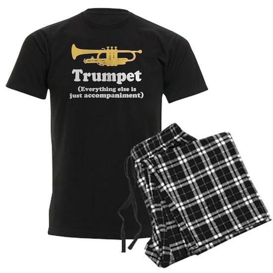 f9e21ba6 Trumpet--everything else is just accompaniment Men's Dark Pajamas ...