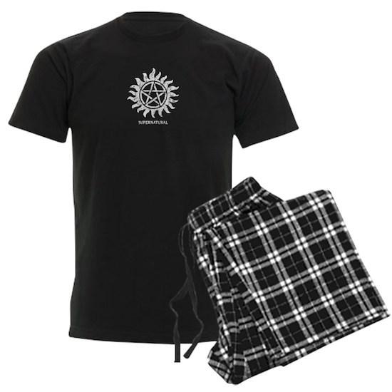 Supernatural Tattoo Grunge Mens Dark Pajamas Supernatural Grunge