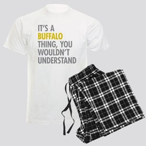Its A Buffalo Thing Men's Light Pajamas