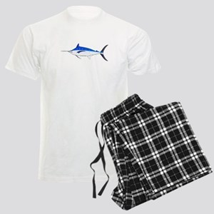 Blue Marlin fish Men's Light Pajamas