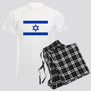 Flag of Israel, the Star of D Men's Light Pajamas