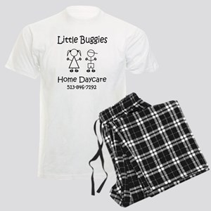 Little Buggies Home Daycare Men's Light Pajamas