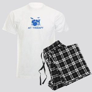 Drums my therapy Men's Light Pajamas