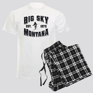 Big Sky Skier Men's Light Pajamas