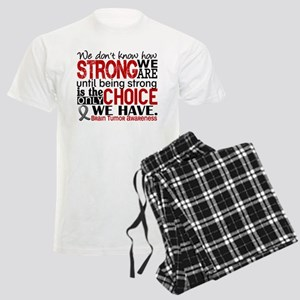 Brain Tumor How Strong We Are Men's Light Pajamas