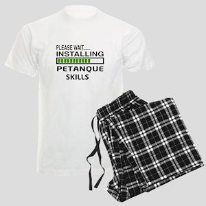 Petanque Mens Pajamas Cafepress