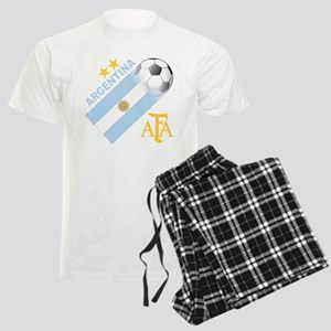Argentina world cup soccer Men's Light Pajamas