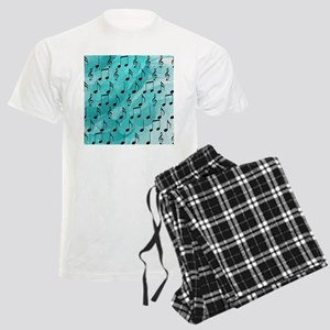 Music notes Men's Light Pajamas