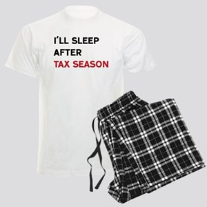 I'll Sleep After Tax Season Men's Light Pajamas