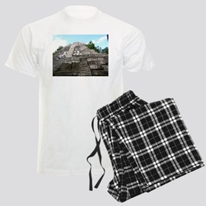 "Ancient Mayan Ruins ""Lumanai"" in Belize Pajamas"