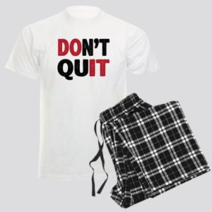 Don't Quit - Do It Men's Light Pajamas