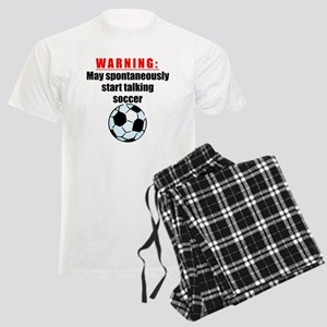 Spontaneous Soccer Talk pajamas
