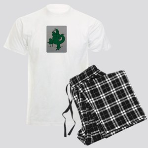 El lagartijo verde Men's Light Pajamas