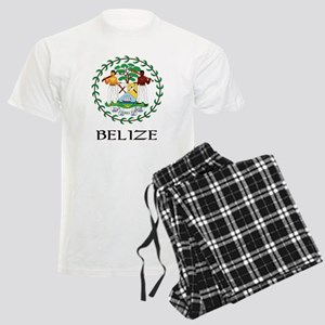 Belize Coat of Arms Men's Light Pajamas