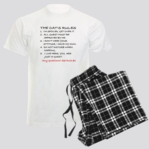 THE CAT'S RULES Men's Light Pajamas