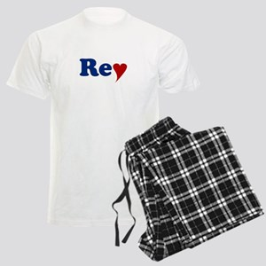 Rey with Heart Men's Light Pajamas