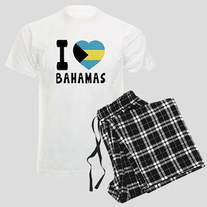 I Love Bahamas Men's Light Pajamas