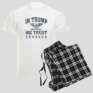 In Trump We Trust Men's Light Pajamas