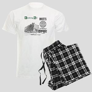 Breaking Bad Car Wash Men's Light Pajamas