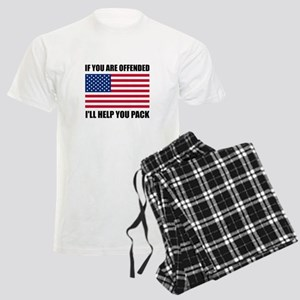Offended USA Flag Help Pack Pajamas