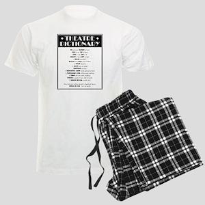 Theatre Dictionary Men's Light Pajamas