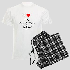I love my daughter-in-law Men's Light Pajamas